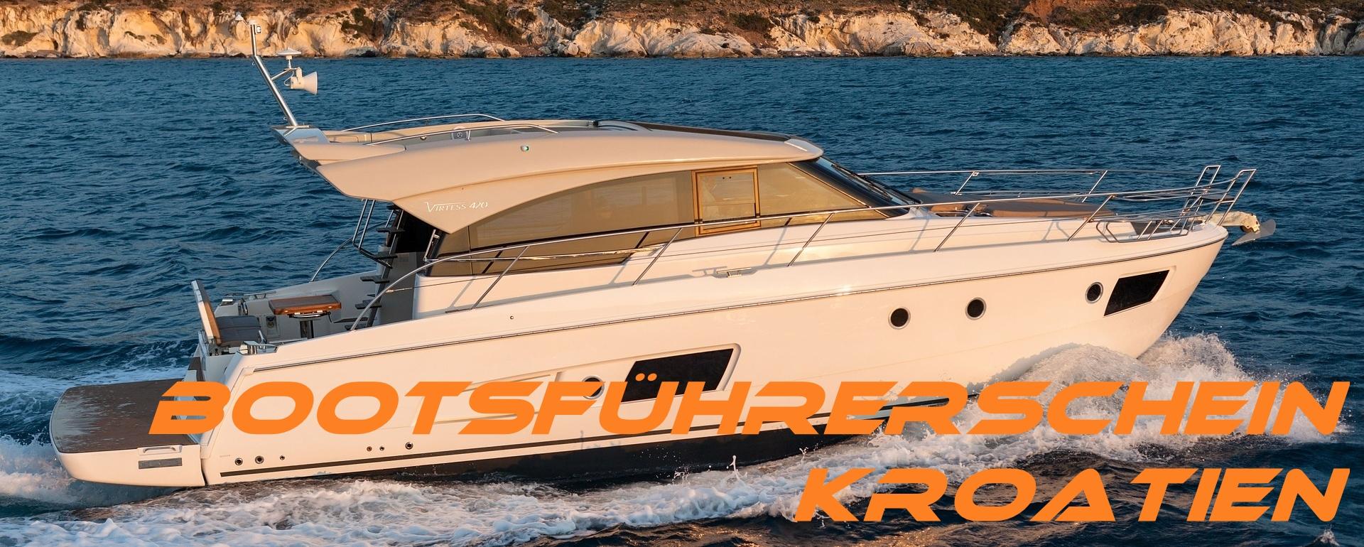 Küstenpatent Tisno Bootsführerschein Tisno machen